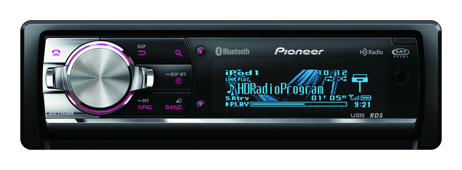 Pioneer DEH-P9400BH CD Receiver Display and Controls Demo
